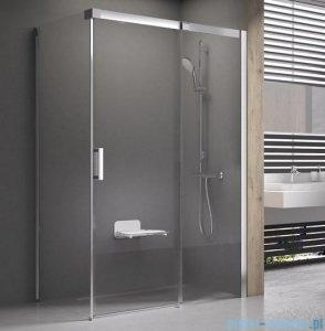 Ravak Matrix MSDPS kabina prysznicowa 100x80cm prawa satyna transparent 0WPA4U00Z1