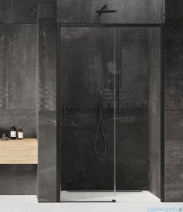 New Trendy Prime Black drzwi wnękowe pojedyncze 120x200 cm prawa przejrzyste D-0321A