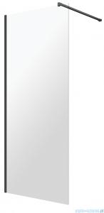 Omnires Marina Kabina prysznicowa typu walk-in 90x200 cm przejrzyste profil czarny DNR90XBLTR