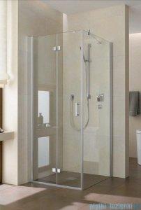 Kermi Diga Drzwi wahadłowo-składane do ściany bocznej, lewe, szkło przezroczyste, profile srebrne 70x200 DI2SL07020VAK