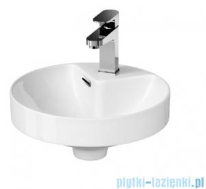 Cersanit Crea umywalka 37 cm wpuszczana w blat biała K114-002