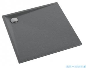Schedpol Schedline Libra Anthracite Stone brodzik kwadratowy 80x80x3cm 3SP.L2K-8080