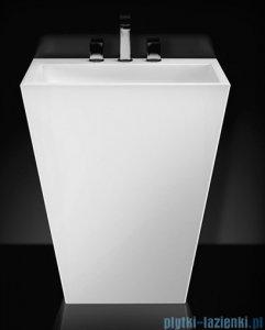 Marmorin Tebe 700 umywalka stojąca z 2 otworami na baterie biała 70x50 P530070020012