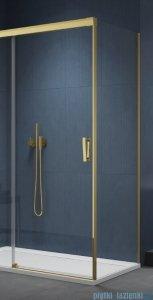 SanSwiss Cadura Gold Line ścianka boczna Cast 100x200cm profile złote CAST1001207