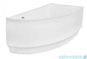 Besco Praktika 150x70cm wanna asymetryczna prawa + obudowa + syfon #WAP-150-PP/OAP-150-NP/19975