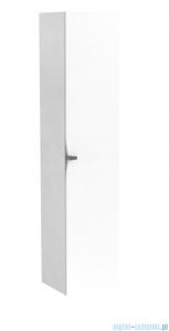 Oristo Siena szafka boczna wysoka 35x160x32cm biały połysk OR45-SB1D-35-1