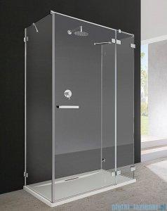 Radaway Euphoria KDJ+S Kabina przyścienna 80x80x80 prawa szkło przejrzyste + brodzik + syfon 383512-01R/383221-01R/383051-01/383031-01/SDC0808-01