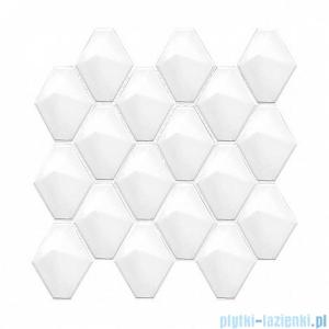 Dunin Mini Carat white płytka ścienna 28,5x27,3cm