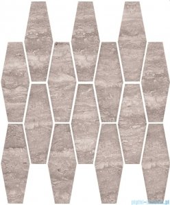 Ceramika Color Salomea grey mozaika ścienna 25x33