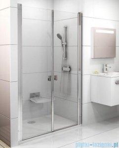Ravak Chrome CSDL2 drzwi prysznicowe 90cm aluminium transparent 0QV7CC0LZ1