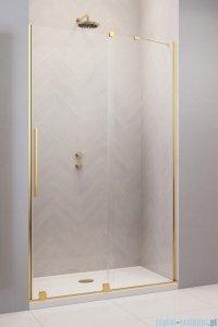 Radaway Furo Gold DWJ drzwi prysznicowe 110cm prawe szkło przejrzyste 10107572-09-01R/10110530-01-01