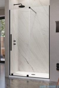 Radaway Furo Black DWJ drzwi prysznicowe 90cm prawe szkło przejrzyste 10107472-54-01R/10110430-01-01