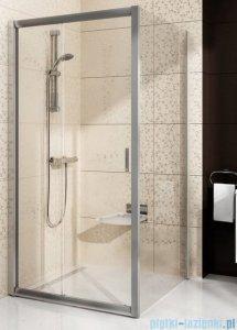 Ravak Blix BLDP2 drzwi prysznicowe 110cm białe transparent Anticalc 0PVD0100Z1