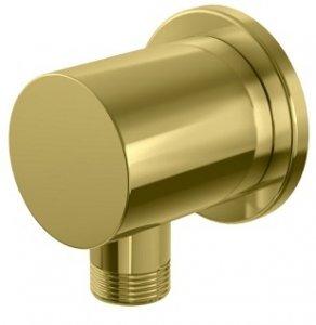 Kohlman Experience Gold przyłącze kątowe wody złoty połysk QW166EGD