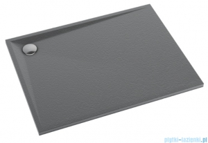 Schedpol Schedline Libra Anthracite Stone brodzik prostokątny 120x90x3cm 3SP.L2P-90120