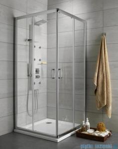 Radaway Premium Plus D Kabina prostokątna 75x90 szkło przejrzyste 30433-01-01N