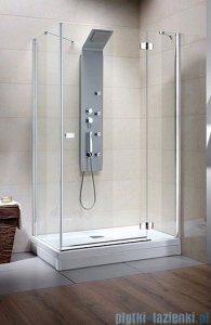 Radaway Kabina prysznicowa Fuenta KDJ 90x90 prawa szkło brązowe 381038-08R