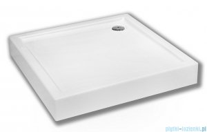 Schedpol Competia Brodzik akrylowy z nośnikiem 100x100x14cm 3.0162