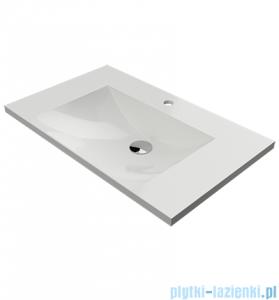 Omnires Naxos umywalka meblowa 76x46cm biała Naxos760