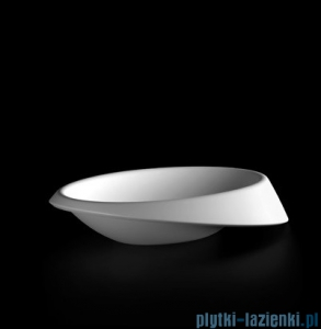 Marmorin umywalka nablatowa Goccia 63,8x40 cm biała P595065020010