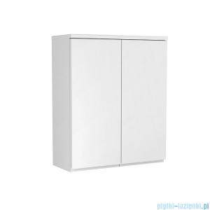 Oristo Brylant szafka górna 60x72x25cm biały połysk OR36-SG2D-60-1