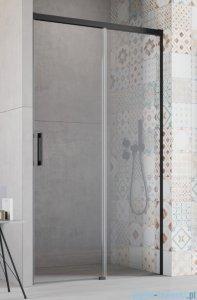 Radaway Idea Black Dwj drzwi wnękowe 100cm prawe szkło przejrzyste 387014-54-01R