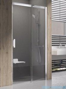 Ravak Matrix MSD2 drzwi prysznicowe 110cm prawe białe transparent 0WPD0100Z1
