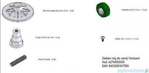Roca Malaga Compact Zestaw nóg do brodzika A27M053000