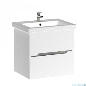 Oristo Silver V2 szafka z umywalką Como 55x55x44cm biały połysk OR33-SD2S-60-1-V2/UME-CO-60-91