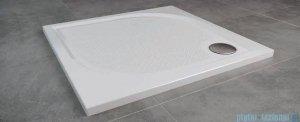 SanSwiss WMQ Marblemate Brodzik konglomeratowy 90x90cm czarny granit WMQ0900154