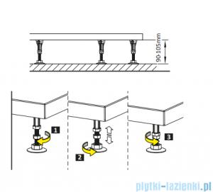 Radaway Nóżki do brodzika 5 szt NB003-M5