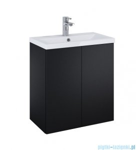 Elita Kido Set szafka z umywalką zestaw 60x67x35cm czarny mat 168097