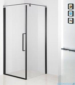 Sea Horse Fresh Line Black kabina natryskowa narożna kwadratowa 80x80cm drzwi pojedyncze BK260T08K