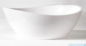Sanitti Tre umywalka nablatowa 47x37 cm biały połysk TRE-47-BP
