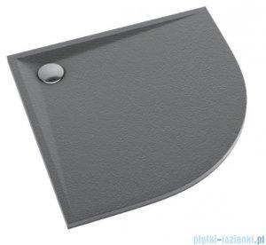 Schedpol Schedline Libra Anthracite Stone brodzik półokrągły 80x80x3cm 3SP.L2O-8080