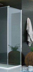 SanSwiss Pur PUDT3P Ścianka boczna 100x200cm cieniowane czarne PUDT3P1001055