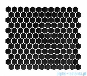 Dunin Mini Hexagon black płytka ścienna 26x30cm