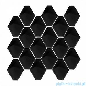 Dunin Mini Carat black płytka ścienna 28,5x27,3cm