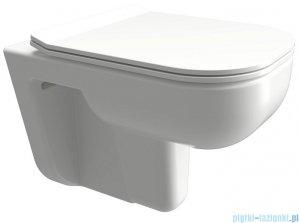 Omnires Denver miska WC wisząca + deska wolnoopadająca DENVERMWBP