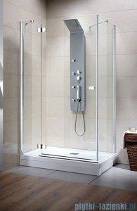 Radaway Kabina prysznicowa Fuenta KDJ 100x90 lewa szkło przejrzyste 381044-01L