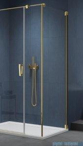 SanSwiss Cadura Gold Line ścianka boczna Cat5 110x200cm profile złote CAT51101207