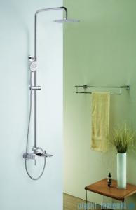 Blue Water Icona zestaw wannowo-prysznicowy natynkowy chrom ICO-ZWPN.500C