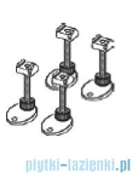 Tece Stopki montażowe z izolacją dźwiękową-4 szt. Tecedrainline 137-184mm 6.600.04