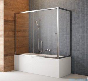 Radaway Vesta Dwj+s parawan nawannowy 160x70cm szkło fabric 209116-01-06/204070-06