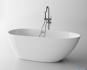 The North Bath Loki wanna wolnostojąca 130X70cm + syfon Klik-klak 6402-1301