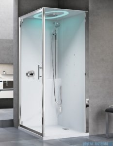 Novellini Eon GF90 kabina kwadratowa z hydromasażem 90x90 EONGF90T1-1AK