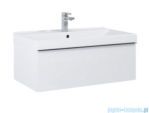 Elita Look szafka z umywalką 80x28x45cm biały mat 167594/145840
