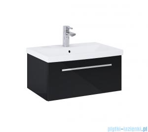 Elita Kwadro Plus szafka z umywalką 60x26x40cm black 167644/22052008N