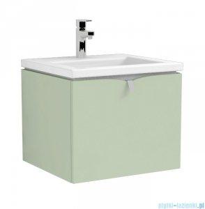 Oristo Siena szafka z umywalką Twins 50x39x45 zielony mat OR45-SD1S-50-46/UME-TW-50-91