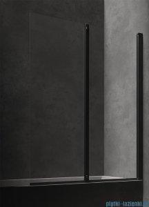 Omnires Kingston parawan nawannowy 2-częściowy 120x150 cm przejrzyste XHE20BLTR